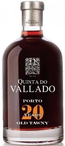 Quinta do vallado 20 year old tawny porto 500ml wine country connection - Quinta do vallado ...