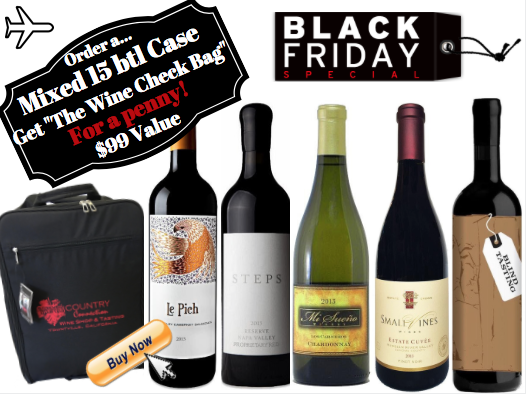 SPECIAL MIXED 15-PACK (WITH WINE CHECK BAG)