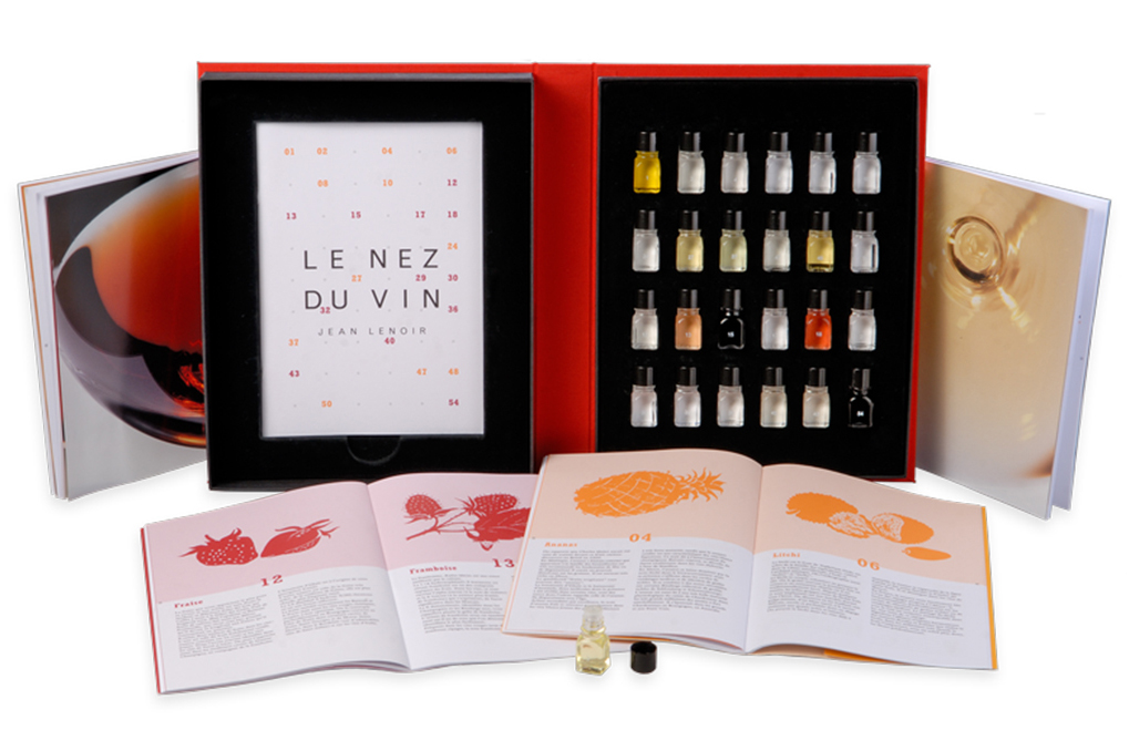 "LE NEZ DU VIN ""24 WINE AROMA"" RED & WHITE KIT"